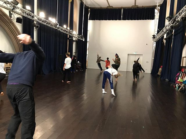 We started the week together in all kinds of dancing led by Laila Diallo! Come along and join us next week @bristoltrinity 10-11.30am £5 drop-in #gatherup #morningclass