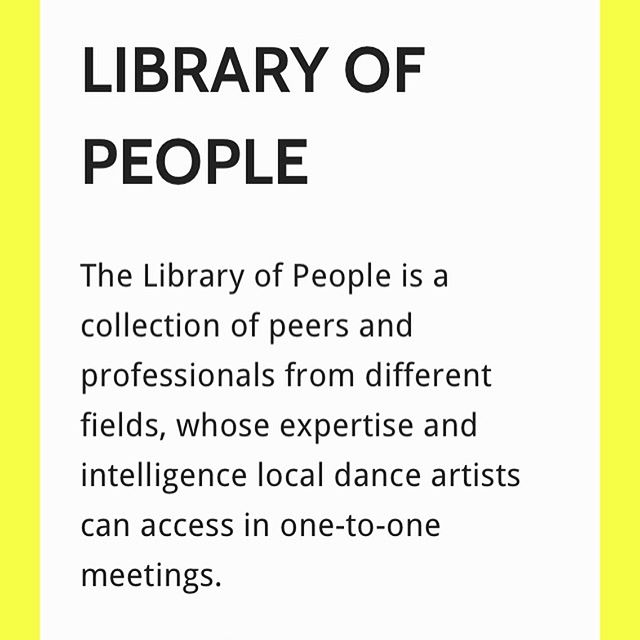 Check out our library of people who are available to book for a one-to-one meeting to support you and your work:  Deepraj Singh Sarah Kingswell Helen Wilson  Laura Dannequin  Jess McCormack Katie Keeler Katy Noakes  Would you like to talk through the development of a project? Need an outside eye in the studio? Have some specific challenges or questions in a specific area of your practice? Need support with an application? Looking for advice of new contacts and opportunities for your work?  Take a look at what areas each person can offer support with in the link below! Then email us with who you would like to meet with and why: info.gatherup@gmail.com  Please note: 1) Library of People is FREE to access 2) This service is only available to artists working with contemporary dance practices and choreography in Bristol at the moment 3) Each artist can access up to 4hrs max. of one-to-one meeting time 4) The location of the meeting can be negotiated between you and the person in a library you would like to meet with. It could be a studio, cafe, park etc.  https://www.gatherup.live/library-of-people #gatherup #libraryofpeople
