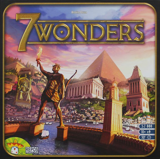 7 Wonders - Grow a civilization that spans the ages.3-7 players