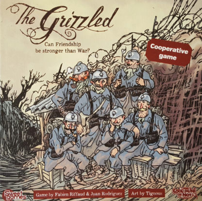 The Grizzled - Overcome trials and hardship with the strength of your friendship.1-5 players (Cooperative)click for details