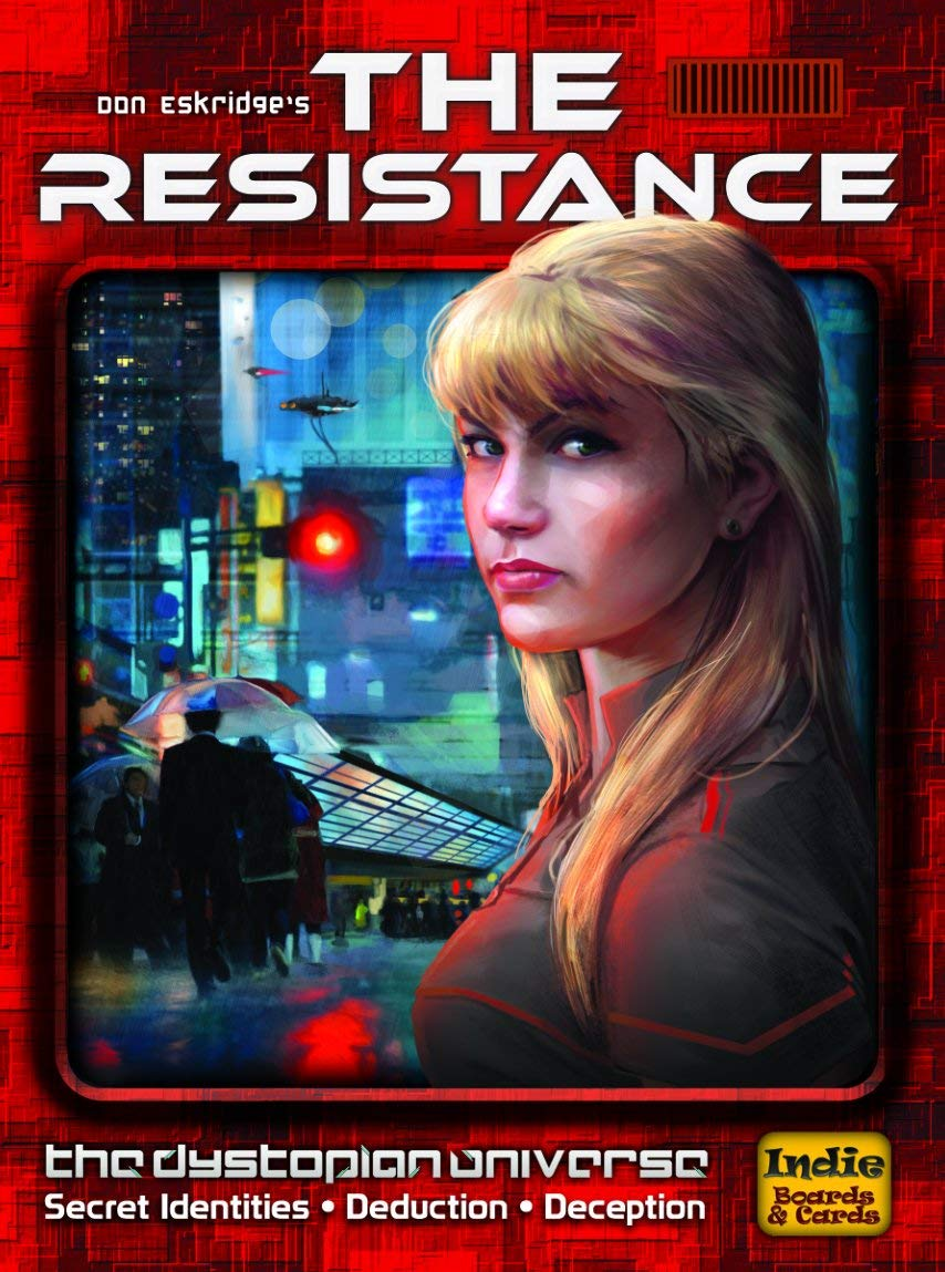 The Resistance - Topple the government before your insurgency is rooted out.5-10 players