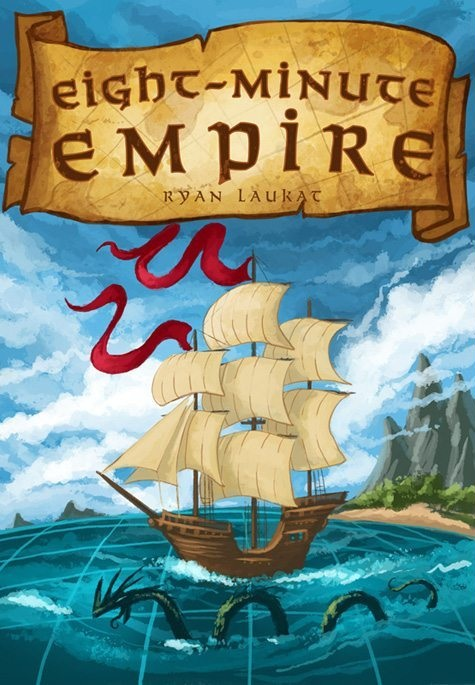 Eight-Minute Empire - The super-quick area control game with tough decisions2-5 players