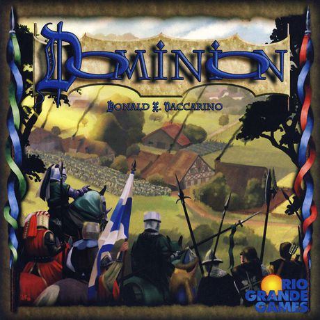 Dominion - Hire minions, construct buildings, spruce up your castle, and fill the coffers of your treasury.2-4 players