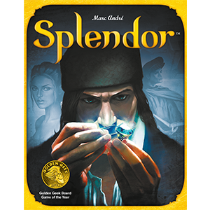 Splendor - You are a Renaissance merchant buying gem mines, means of transportation, shops - all in order to acquire the most prestige.2-4 players