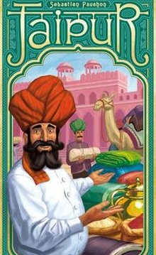 Jaipur - Become the wealthiest merchant and gain the Maharaja's favour.2 players