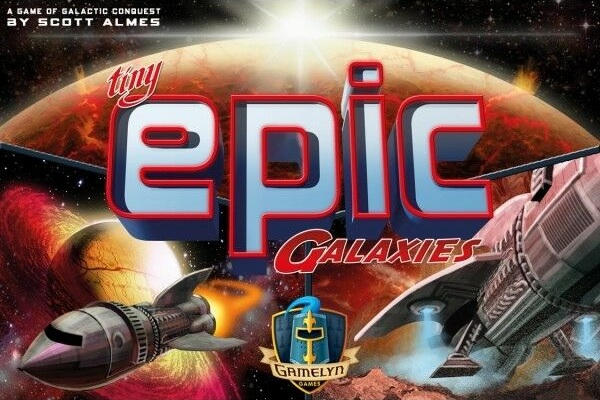 Tiny Epic Galaxies - Will your influence be enough to control the most powerful planets in the galaxy?1-5 players