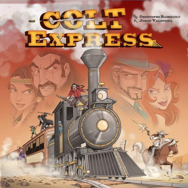 Colt Express - Fight, shoot and loot your way through the Union Pacific Express to become the richest bandit in the West.2-6 players