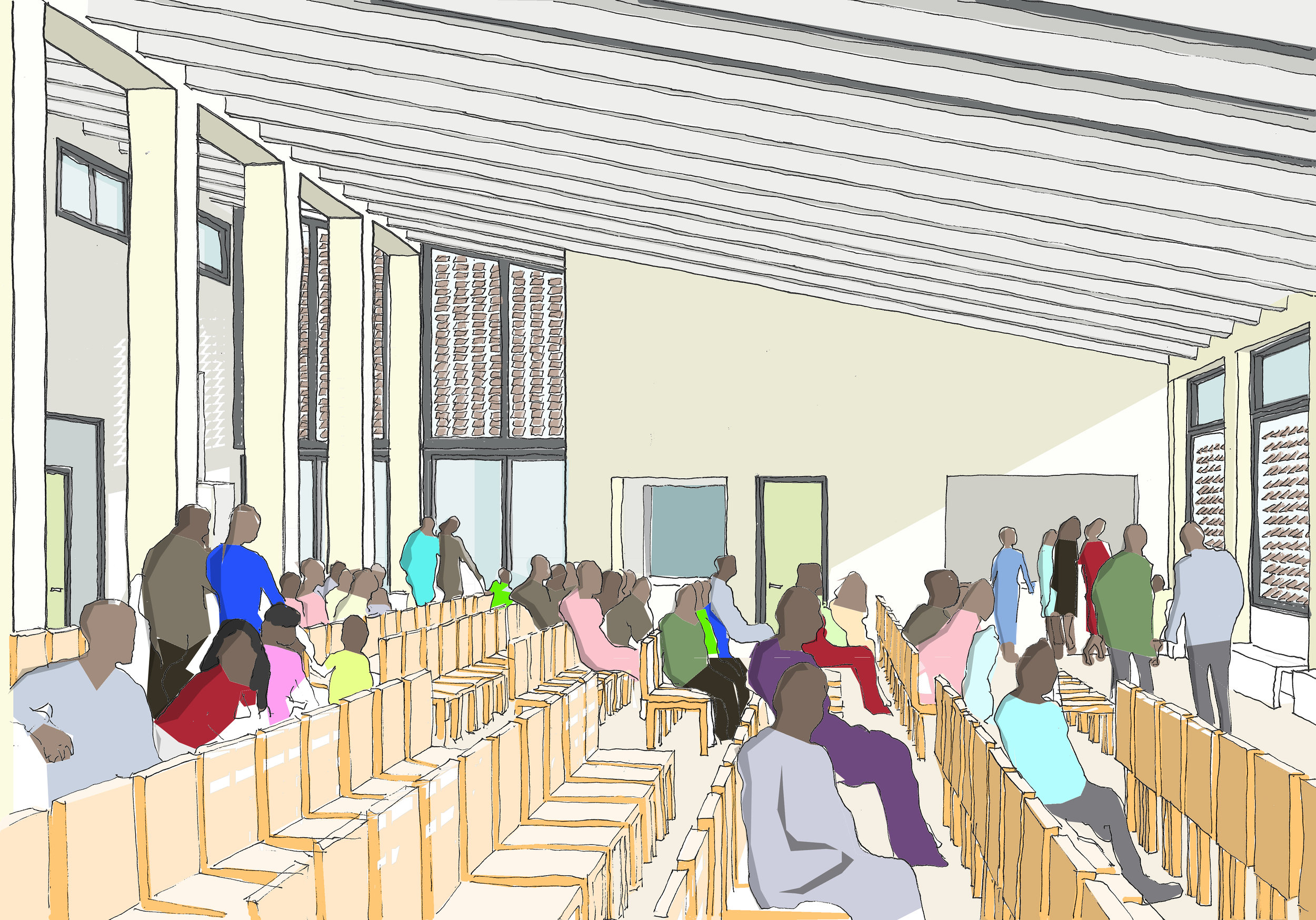 Proposed sketch of outpatients
