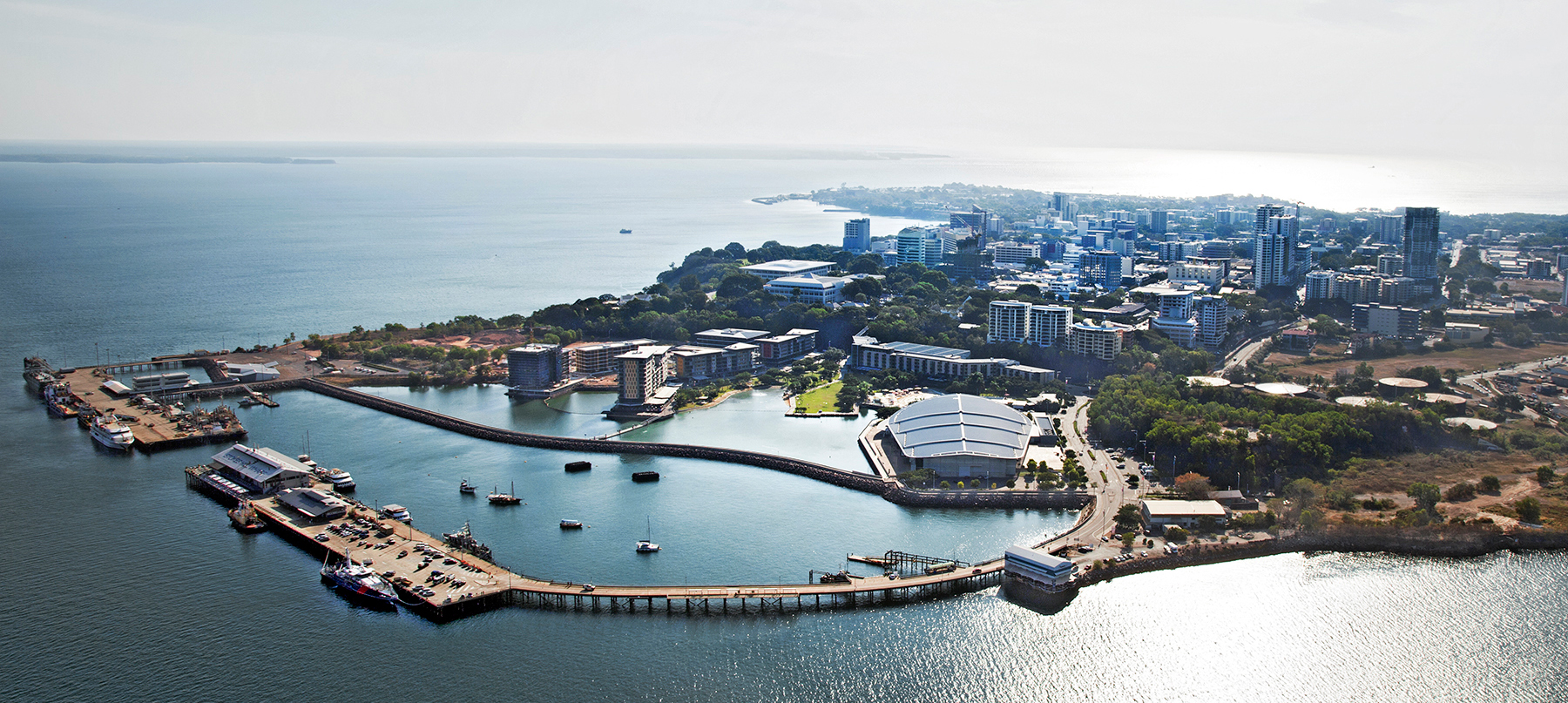 NGphotographics - Darwin aerial view