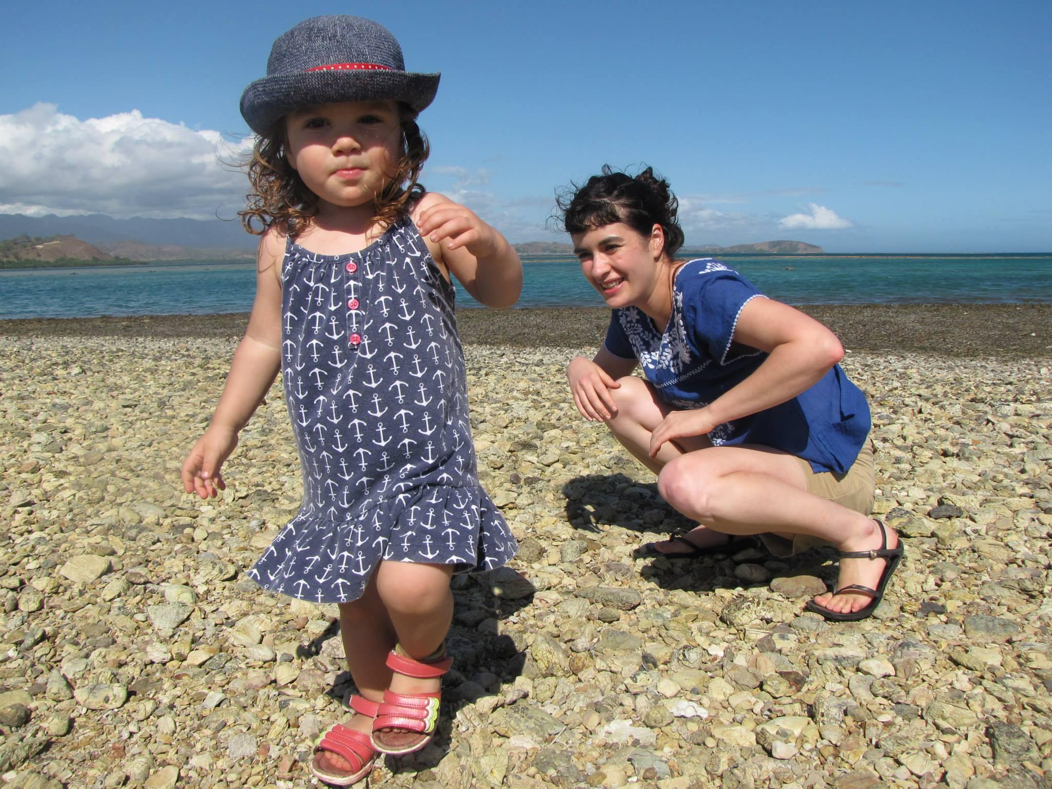 Rocky yet enjoyable beaches in Loloata