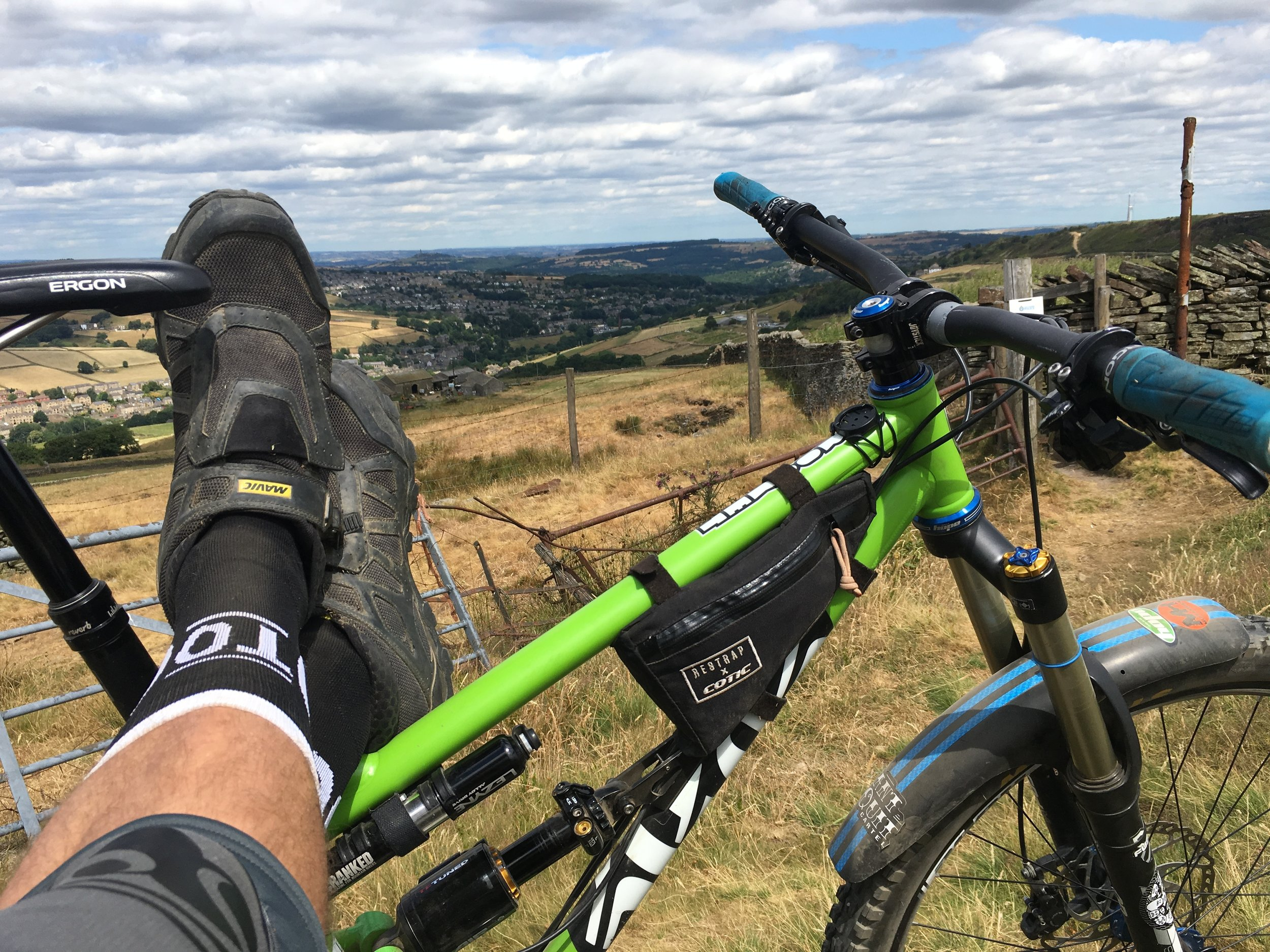 Relaxing in the Holme Valley
