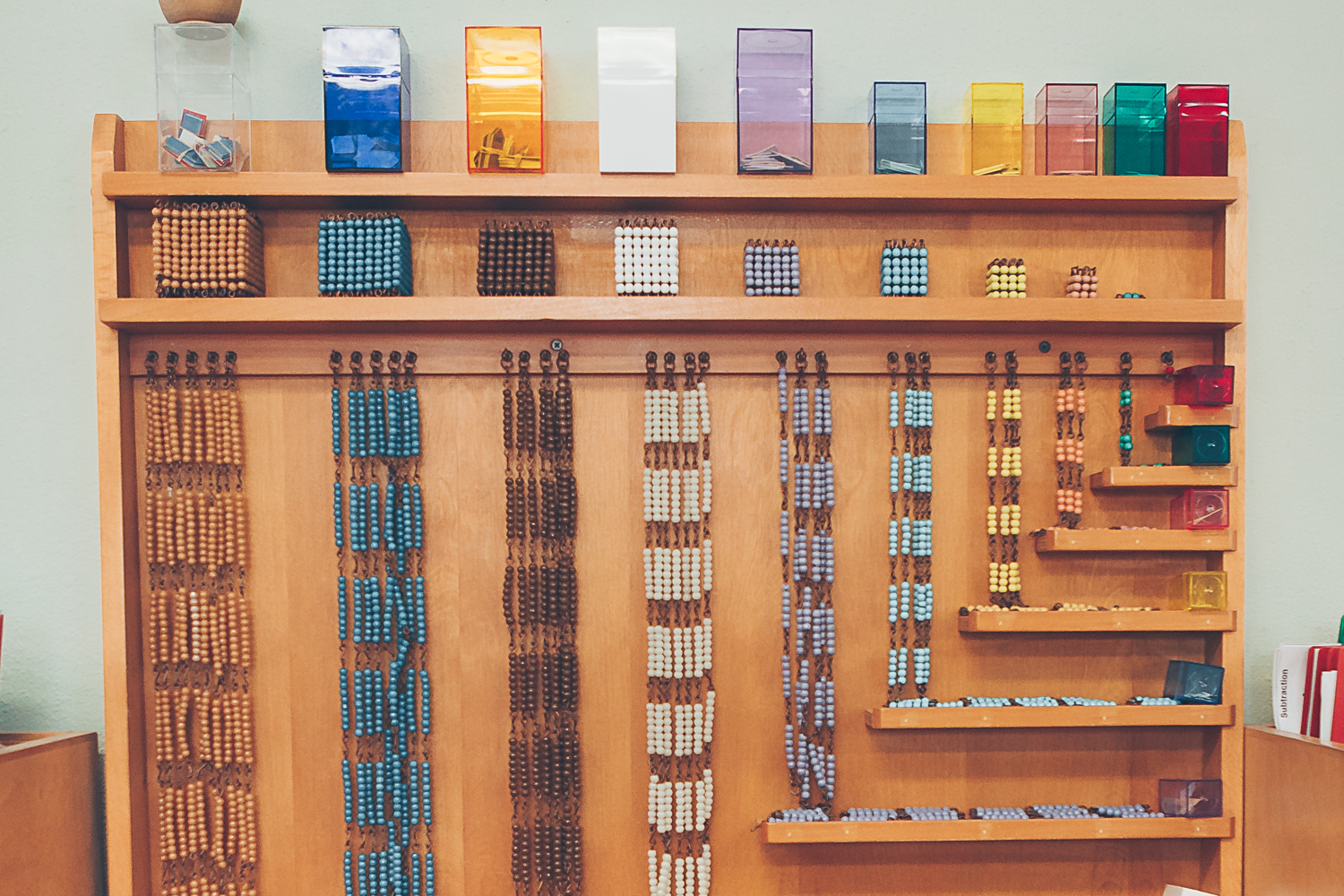 Mathematics: Bead Cabinet
