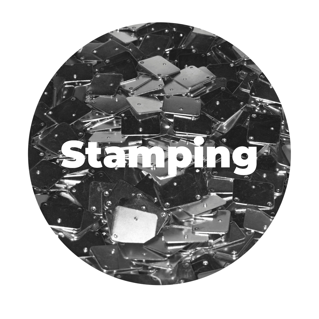 stamping services: - High-speed fabrication of custom parts needing multiple modifications