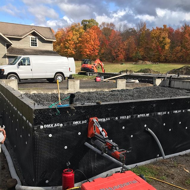 Some slab work done today before they pour the concrete floors on this Normerica new home build #normerica #electrician #postandbeam #attachedgarage #3car #coredrill #slabongrade #construction #newbuild #anotherone #busyseason #muskoka #huntsvilleelectric #electricalcontractor #247emergencyservice #approvedcontractorprogram #huntsville #bracebridge #gravenhurst #parrysound #attentiontodetail #localbussiness