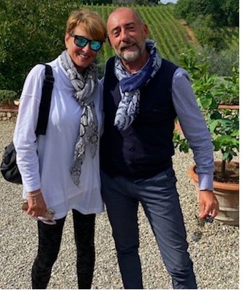 THIS IS NOT M! THIS IS MY NEW BESTIE ALFREDO. WE WEAR SCARVES…