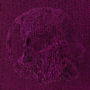 "Purple Skull,  2019, Chromogenic print, 30"" x 30"""