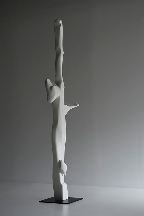 "Mnemosyne , 2018 , Unique work in a series of 3, Bronze, 12 x 22 x 76"""