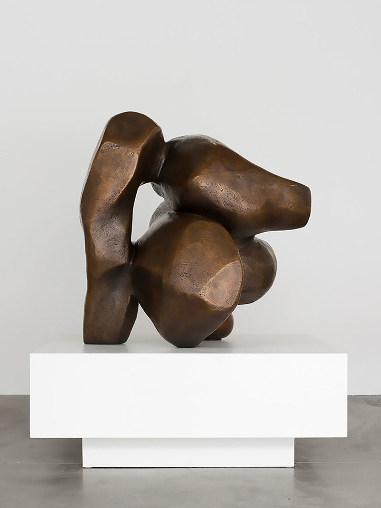 "Venus Redux , 2018, Unique work in a series of 3, Bronze, 48"" x 42"" x 36"""