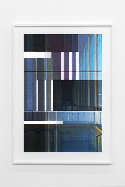 "Platz #4 , 2017, Edition of 5, Giclée on arches paper, 42"" x 30"""
