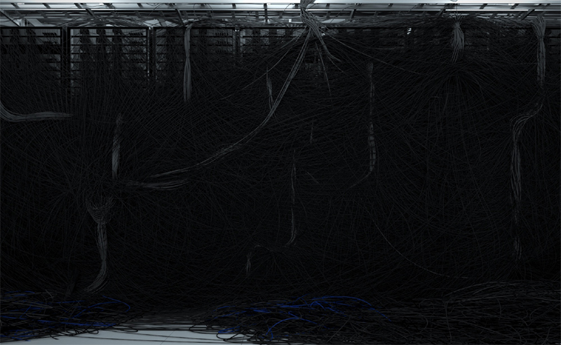 "Dendrites , 2016, Edition of 2, Inkjet print, acrylic, steel, 58"" x 93"""