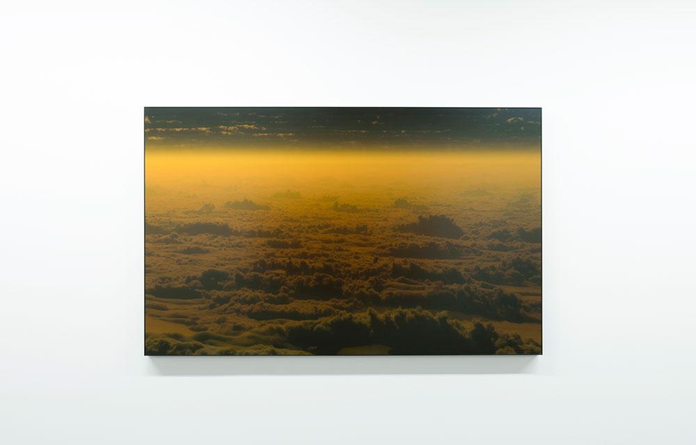 "Réminiscence 6,  2016, Edition of 3, Inkjet print, acrylic, steel, 42 ⅛ x 68"""