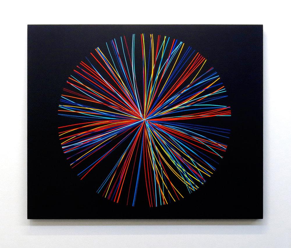 Mass production A-01 , 2013, Acrylic on canvas, 107 x 130 cm