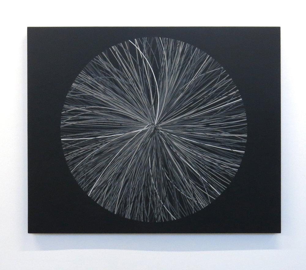 Mass production A-02 , 2013, Acrylic on canvas, 107 x 130 cm