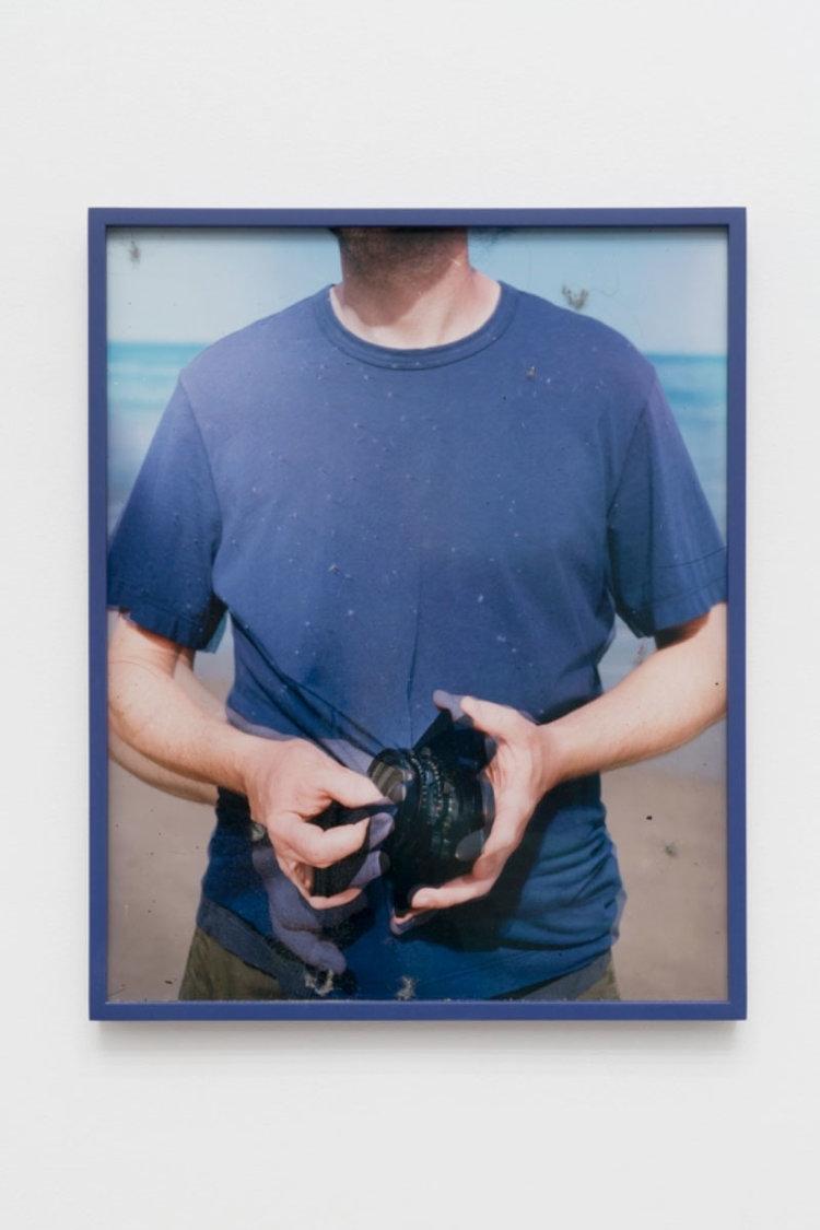 Lens Cleaning Schneider Apo-Symmar 56/180mm; James Perse Space Crewneck Jersey T-Shirt