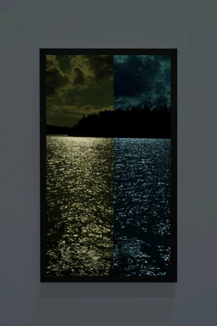 Sun for Moonlight, Colour Pattern Test Strip Picture, Little Jane Island