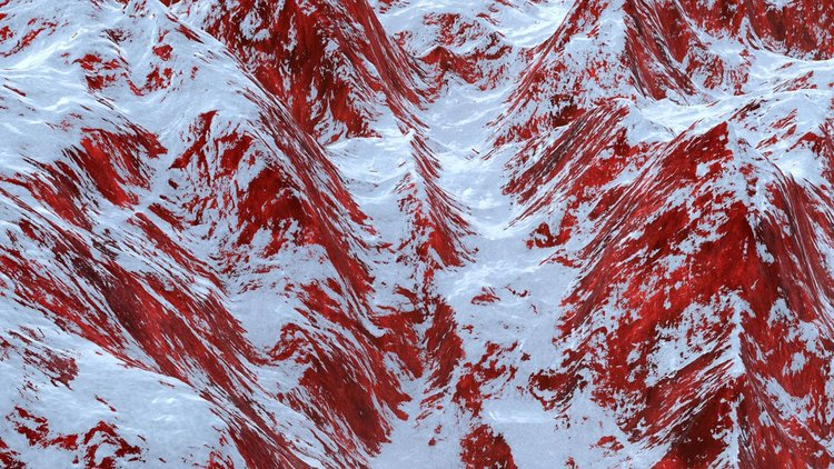 Bloodmountains,  2015, Edition of 1, Video, 1 min 37 sec