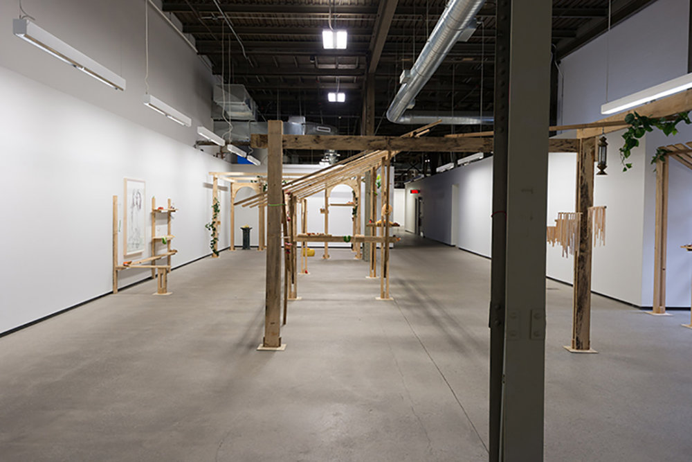 Copy of Installation view - Cantina