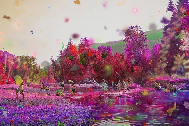Purple River II