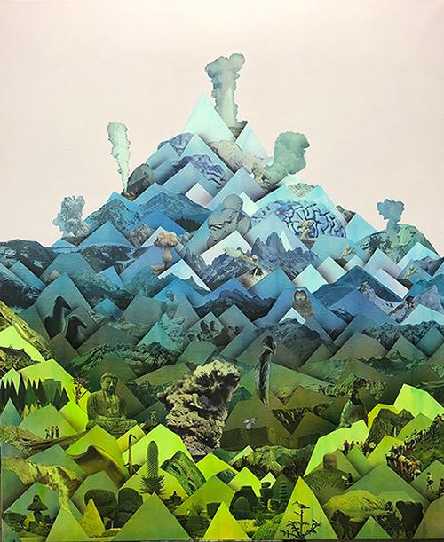 Simon Hughes, Mountain (fissures)