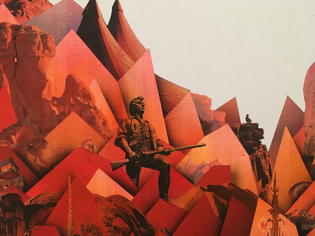 Simon Hughes, Mountain (magma) (Detail)