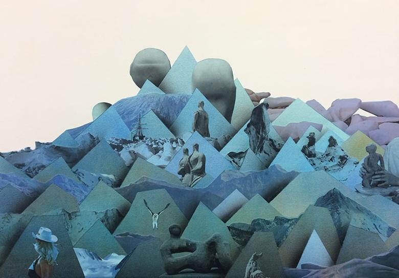 Simon Hughes, Mountain (clay)