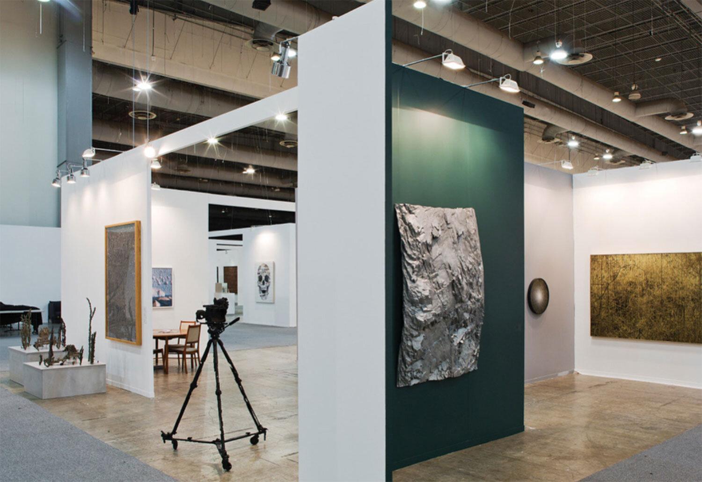 Installation view, Patrick Coutu, Nicolas Baier