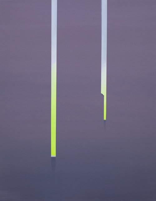 Wanda Koop, In Absentia (Luminous Yellow)