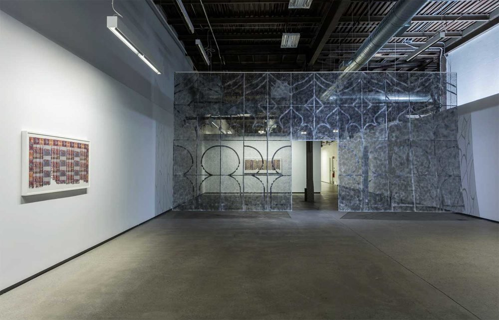 Installation view, Fragments, Division Gallery, Montreal