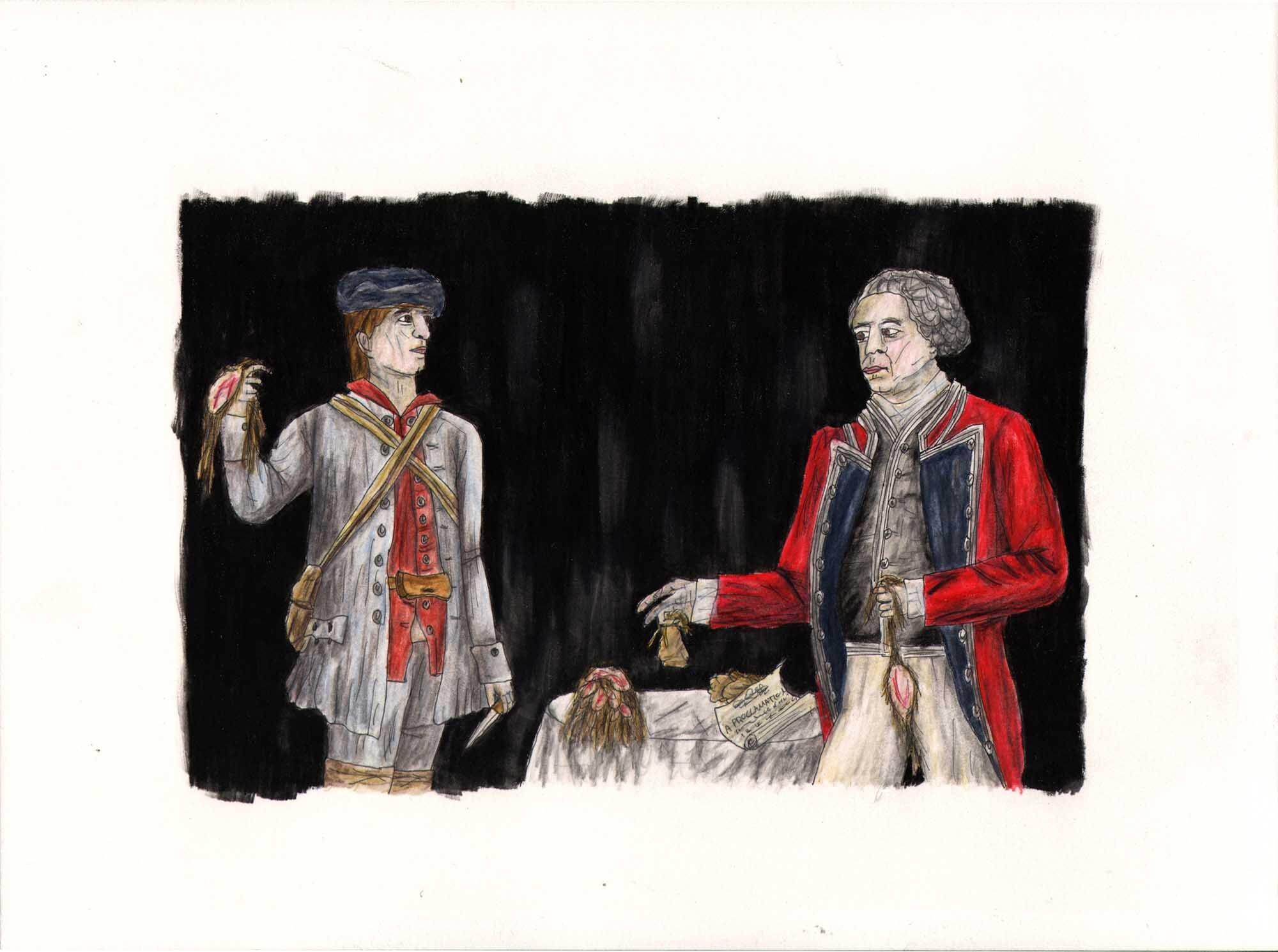 Le génocide des Micmacs en Nouvell-Écosse (Cornwallis)