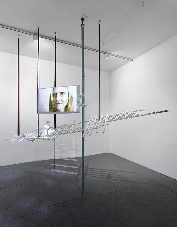 Installation view, Série Anomalies