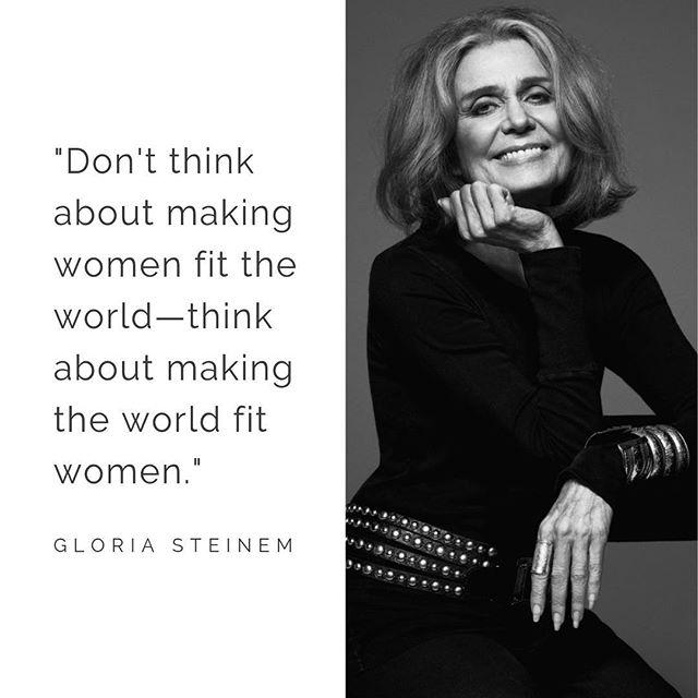 Wishing icon @gloriasteinem the happiest of birthdays! #happy85gloria #rep19 #womenlead #feminist #womeninpower