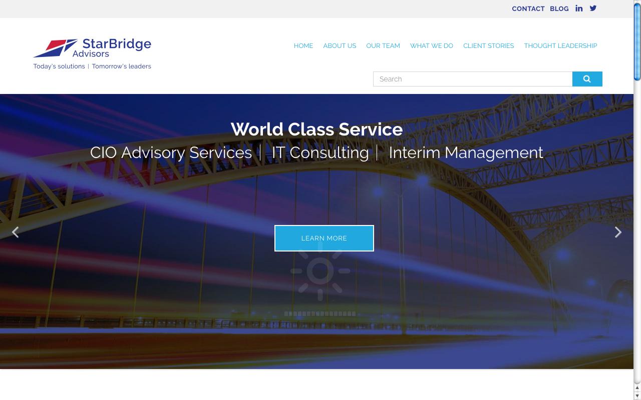 CLICK IMAGE ABOVE FOR STARBRIDGE ADVISORS' WEBSITE