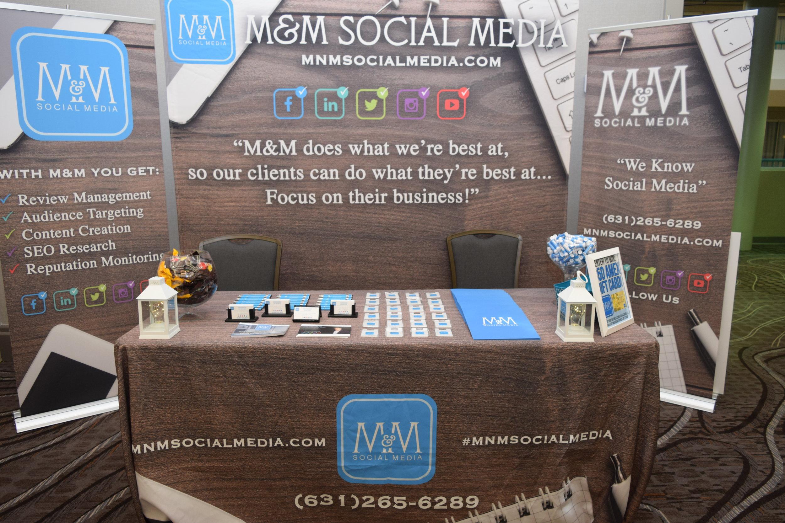 Logo Graphic Design M M Social Media Seo Web Design Long Island Ny