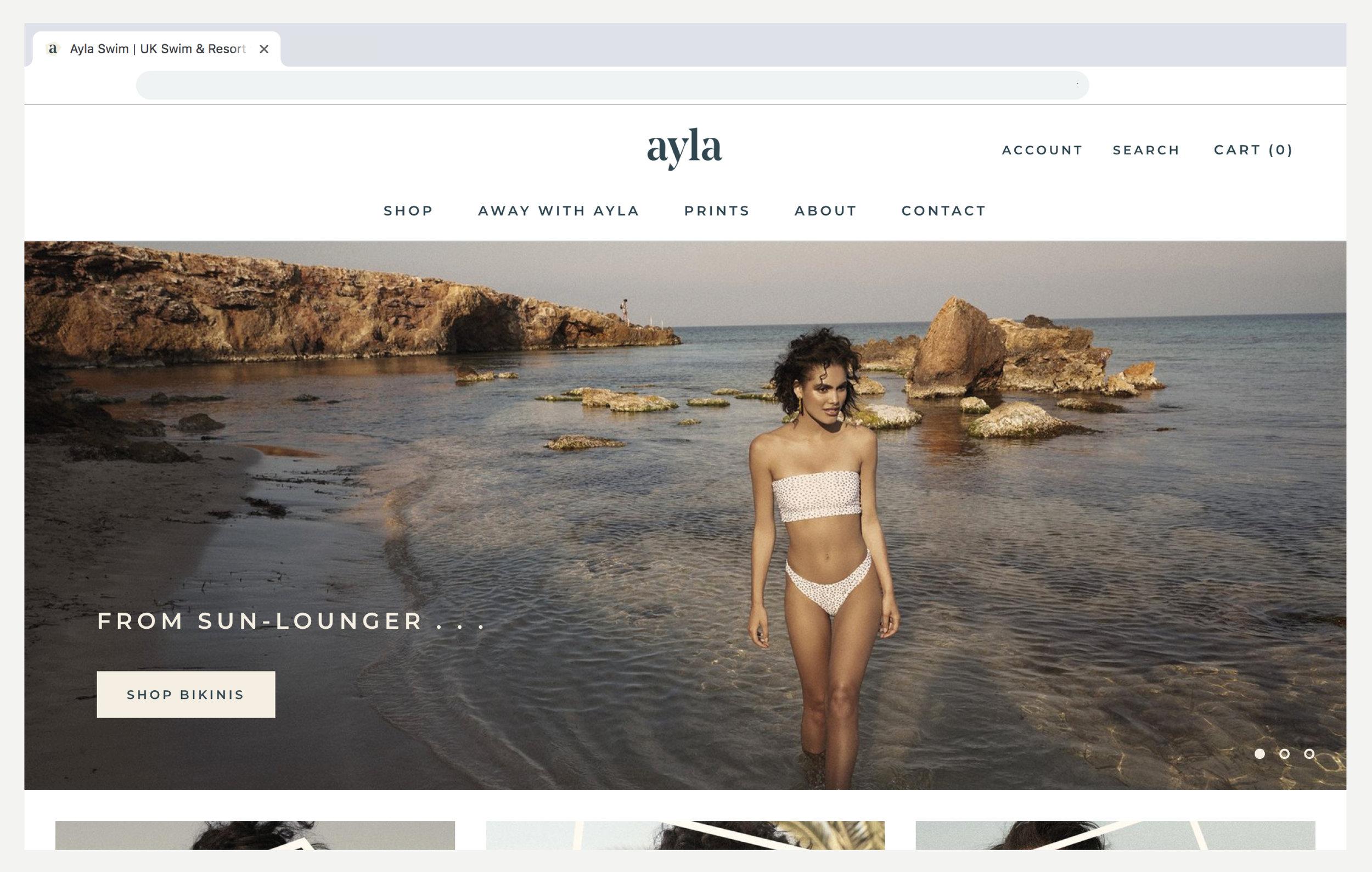 Ayla_Web_Layout