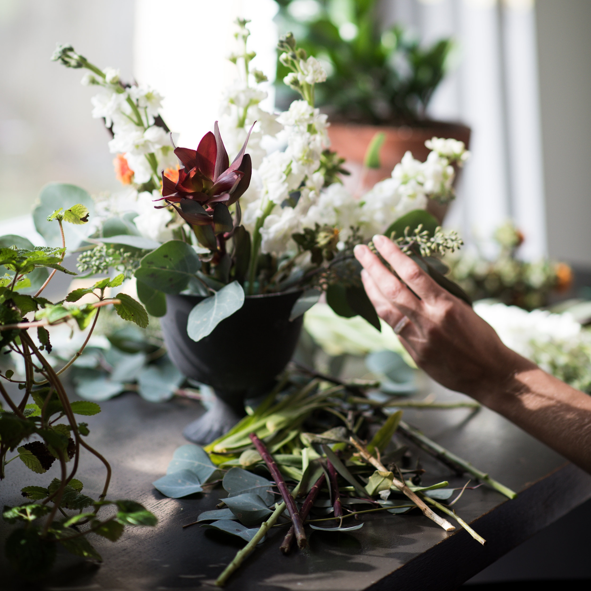 Behind-the-scenes - Floral