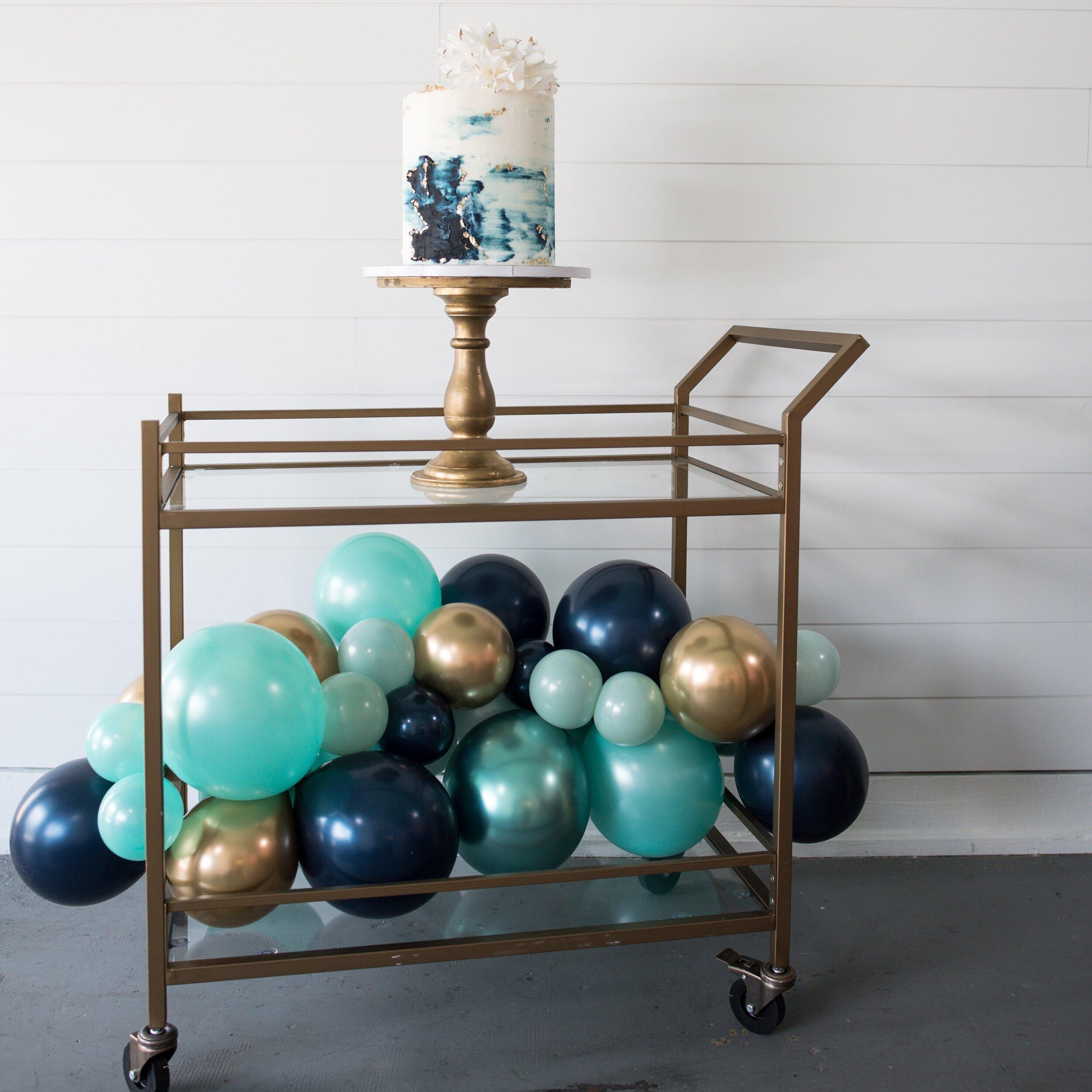 Cake & Balloons - Bridal Shower Inspo