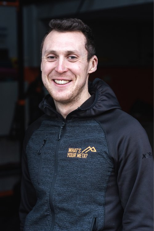 Finlay McAndrew - Finlay has been racing triathlon for 9 years and has specialised in Ironman distance racing. He has finished as high as 11th Overall at Ironman UK, while winning his AG (25-29) back to back years (2016/17) and qualified for Kona twice.He has a BSc (Hons) in Applied Sports Science from Edinburgh University.Finlay has a passion for helping anyone achieve their goals. He specialises in endurance coaching for triathlon and running but the sport scientist in him means he's interested in all facets of performance.Finlay will be racing for the META Triathlon team this season and will be focusing on Ironman distance triathlon. He will be using his knowledge from racing, combined with his sports science knowledge to help build better humans.