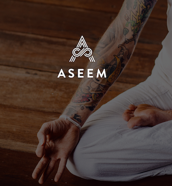 You can't patent fashion items made from fabric, so it was critical to establish Aseem as the market leader. The brand we created will help deter lower price point copycat products.