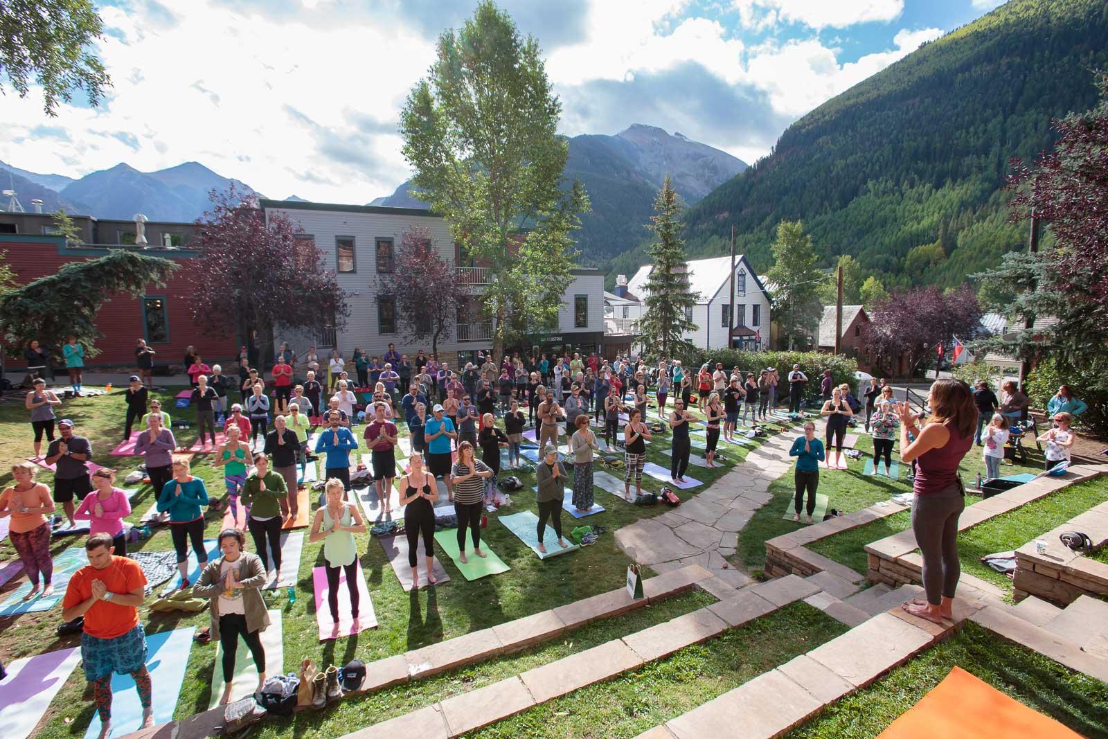 Telluride Blues & Brews Festival | Yoga Sessions
