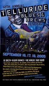 Telluride Blues & Brews Festival | 2005 Poster